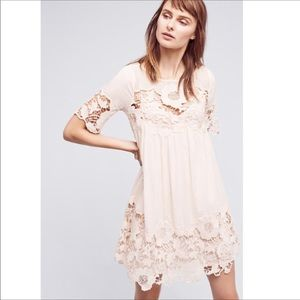 Anthropologie Holding Horses Magnolia Lace Dress
